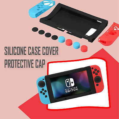 Silicone Case Cover Protective Cap for Nintendo Switch Gamepad Joysticks Console
