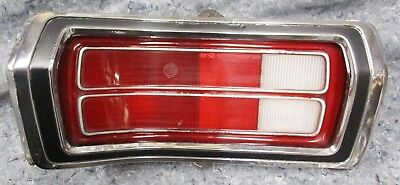 DUSTER TAILLIGHT LH 73 74 75 76 NICE! mopar grille BEZEL PLYMOUTH grill SCAMP