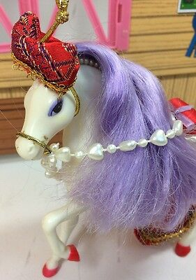 Vintage Enchanted Kingdom Horse Collection Mikado Chinese Saddle Bridle Marchon