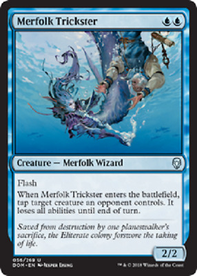 MTG - Dominaria (DOM) Blue Cards Numbers 040 to 076