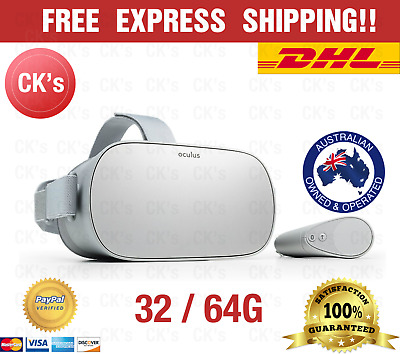 Oculus Go White Wireless Portable Standalone 32G/64G VR headset + Controller