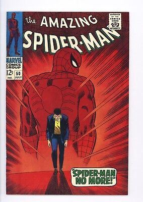 Amazing Spider-Man #50 Vol 1 Near Perfect High Grade 1st App of the Kingpin