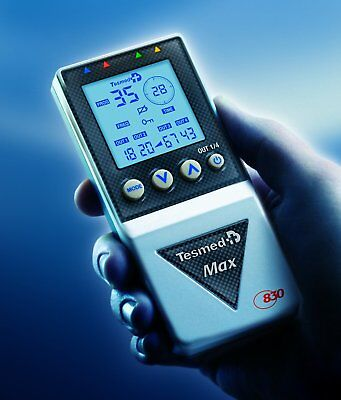 Electrical stimulator muscle professional Tesmed MAX 830 -drums rechargeable