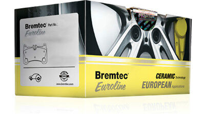 Bremtec EUROLINE ECE R90 Approved Ceramic - BT1345ELC