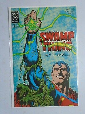 DC Swamp Thing # 79 8.0 VF (1988) 2nd Series