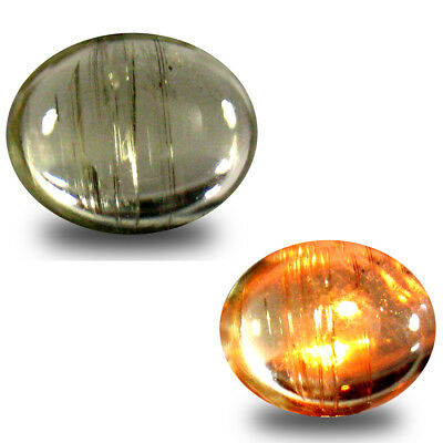 3.80 ct Grand looking Oval Cabochon (11 x 9 mm) Un-Heated Color Change Diaspore