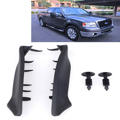 2X 04-08 For Ford F150 Windshield Window Wiper Cowl Cover Panel Set Fit Lincoln