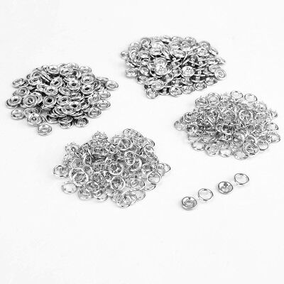 100 Prong Poppers, Snap Fastener Stud, Sewing, Clothing Need Press Machine Tool