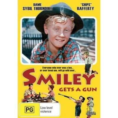 Smiley Gets a Gun Dvd = Brand New Fast Postage  =