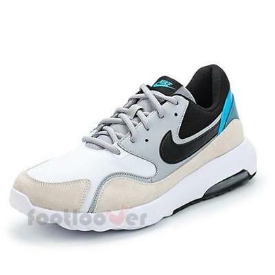 official photos 70707 baabe Nike Air Max Nostalgic 916781 100 Mens Running Shoes White Black Grey  Sneakers