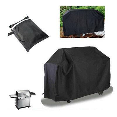 Small Medium Large BBQ Cover Heavy Duty Waterproof Rain Barbeque Grill Protector