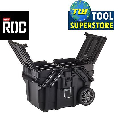 Keter ROC Heavy Duty Pro Gear Mobile Tool Storage Wheeled Toolbox KET17203037
