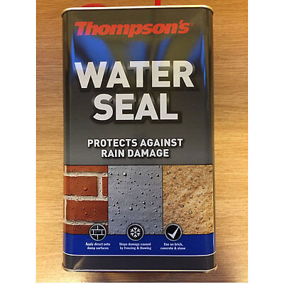 New Thompsons Water Seal 5 Litre For Brick Concrete & Stone