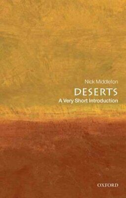 Deserts: A Very Short Introduction by Nick Middleton 9780199564309