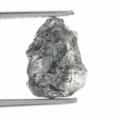 Beautiful Dark Gray Color Natural Loose Uncut Rough 1.35 ct. Diamond