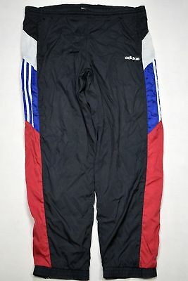 Adidas Trainings Hose Jogging Sweat Track Pant Shiny Glanz Nylon 90s D 6 ca US M