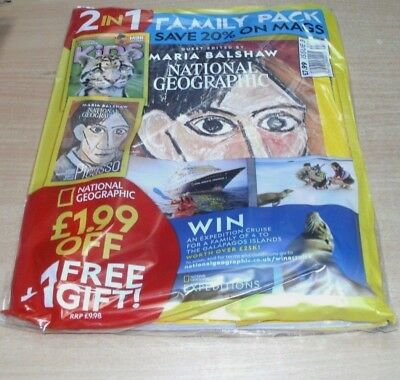 National Geographic Family magazine #3 2018 May Issue + Kids JUN Issue