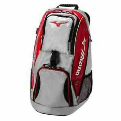 New w/ tags  ~ Mizuno Tornado Volleyball Backpack - Silver/Red