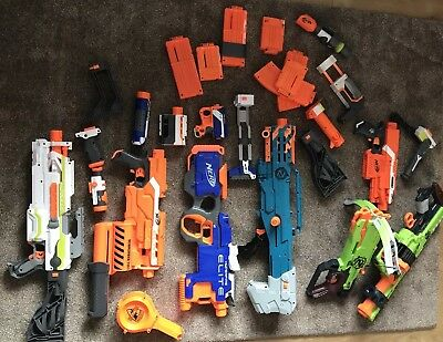 Giant Nerf Gun Bundle With Attachments And Extras
