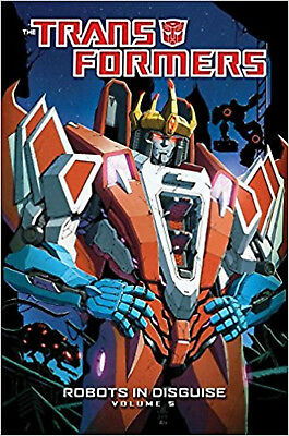 Transformers: Robots In Disguise Volume 5 (Transformers (Numbered)), Barber, Joh