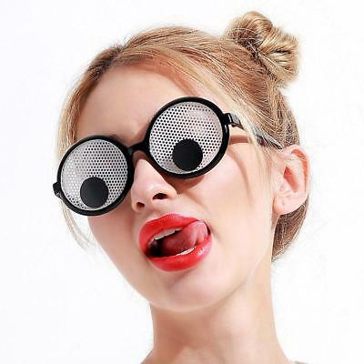 Shaking Googly Eyes Glasses Goggles Party Decoration Funny Festivals Sunglasses