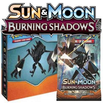 Pokemon Sun and Moon Burning Shadows Collectors Album Card Trading Game New Toy