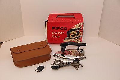 Nice, Vintage, Pifco, Travel Iron, in Original Case with box