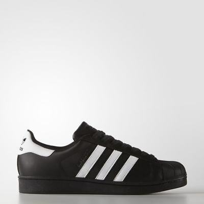 Adidas Superstar Foundation Mens Shoes Original Trefoil Retro Black White