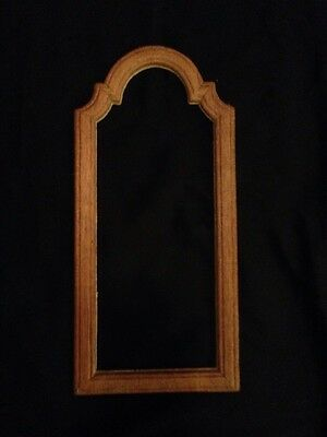 (Lot 0f 5) Unfinished Cherry Wood overlay (Use as is or cut for craft trim)