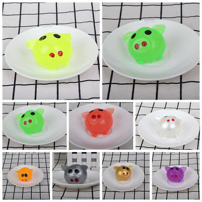 LC_ 1Pc Anti-stress Splat Ball Vent Toy Smash Various Styles Pig Toys Delightf