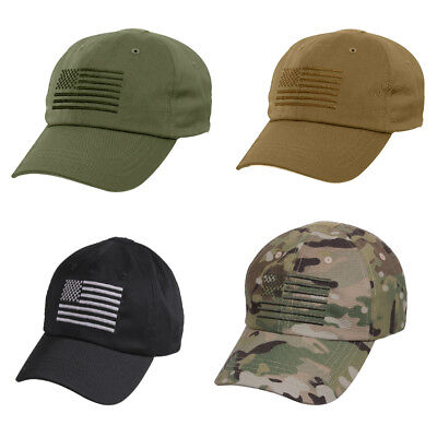 03de47e7e8c TACTICAL OPERATOR CAP With US Flag Baseball Hat Rothco -  10.60 ...