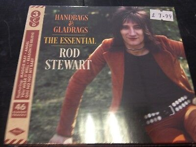 Rod Handbags Gladrags The Essential 3 Cd New Mint Sealed