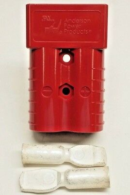 6322G1 Anderson Original SB 350 Battery Connector Red 2/0 AWG