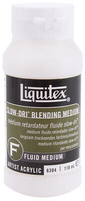 Reeves 6304 Liquitex Slow-Dri Blending Acrylic Fluid Medium-4oz