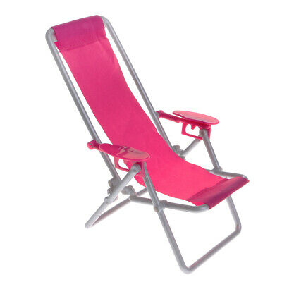 1/6 Scale Miniature Beach Deck Chair for Hot Toys Figures Accessories