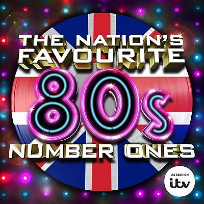Various Artists - The Nation's Favourite 80'S Number Ones 3Cd Set [Sealed]