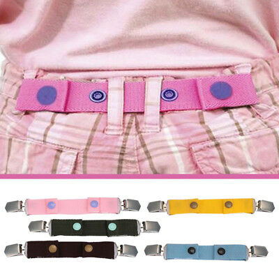 Waist Belt Children Buckle Clip Belts Kids Belt Jeans Strap Elasticated