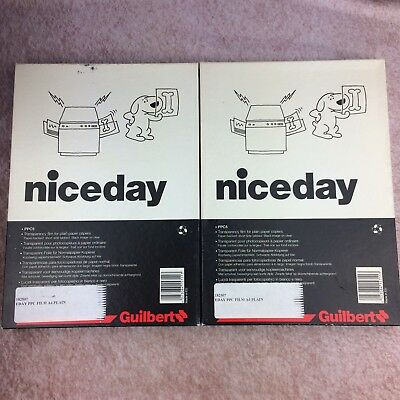 Niceday Guilbert Transparency Film For Plain Paper Copiers 8.5 x 11 2x100 sheets
