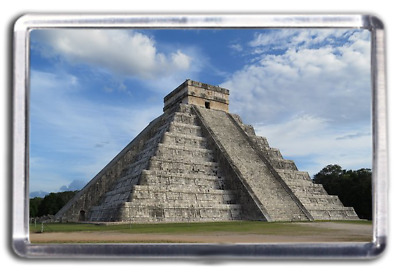 Chichen Itza - Yucatan Mexico Fridge Magnet Collectable Design Mayan Ruins