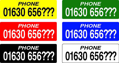 Racing Pigeon ETS Ring Phone Number Stickers + 20% EXTRA FREE