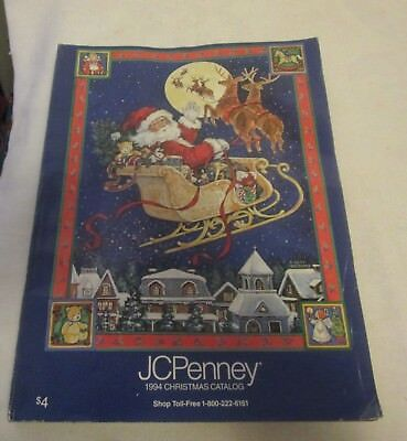 J C Penny 1994 Christmas Catalogue Great Items Listed & 140 Pages Of Toys