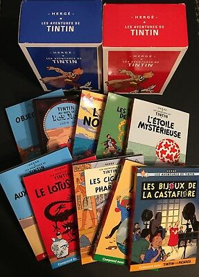 HERGE / ADVENTURES OF TINTIN - Complete 10 DVD box Collection French/ English