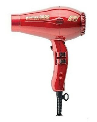 Parlux 3800 Professional Hair dryer  Red