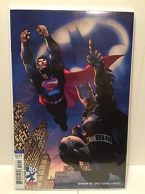 Batman #45 (DC Comics Rebirth) Jim Lee Variant NM 9.4 Or Better