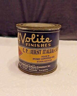 Vintage Avolite Paint Varnish  Finishes  Metal Can  Never Used Full