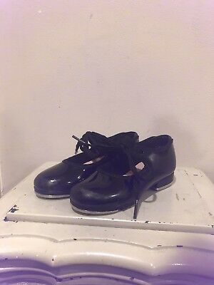 Capezio Tap Shoes Girls Kids Youth Toddler 8.5 M Black
