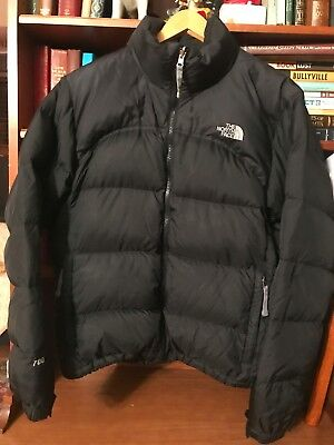THE NORTH FACE 700 Down Fill Black Nuptse Puffer Winter Jacket Women s Size  L aa892436b