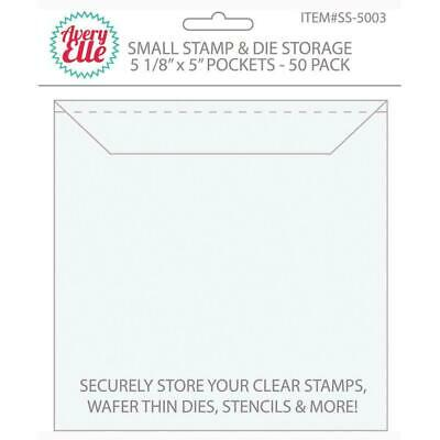 Avery Elle Stamp & Die Storage Pockets x 50/Pkg Small, Large or X Large