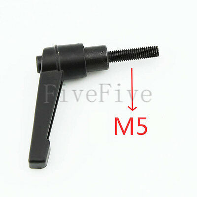 Machinery M5 Threaded Knob Adjustable Handle Clamping Lever Choose thread length