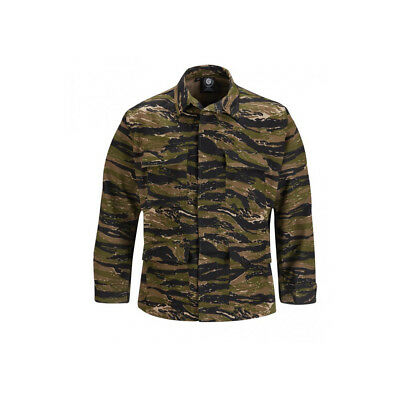 Asian Tiger Stripe BDU Tactical Military Uniform 4-Pocket Coat Propper Ripstop